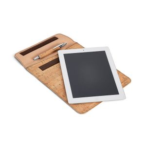 Bolsa para tablet. Cortiça e couro sintético YBR92278