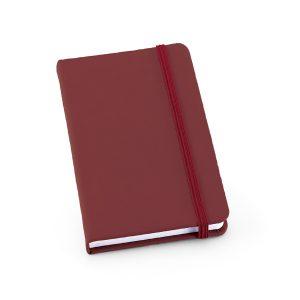 Caderno capa dura em couro sintético YBP93425