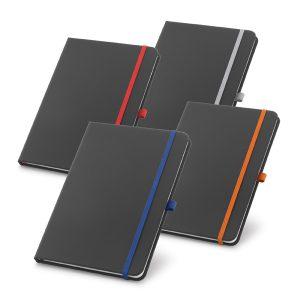 Caderno capa dura em couro sintético YBP93722