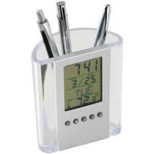 Relógio com Porta Caneta YBXBK62