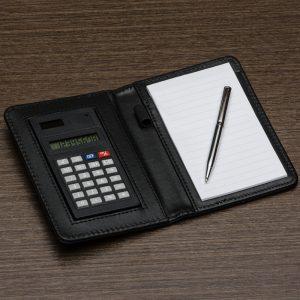 Bloco de anotações c/ Calculadora YBX11948
