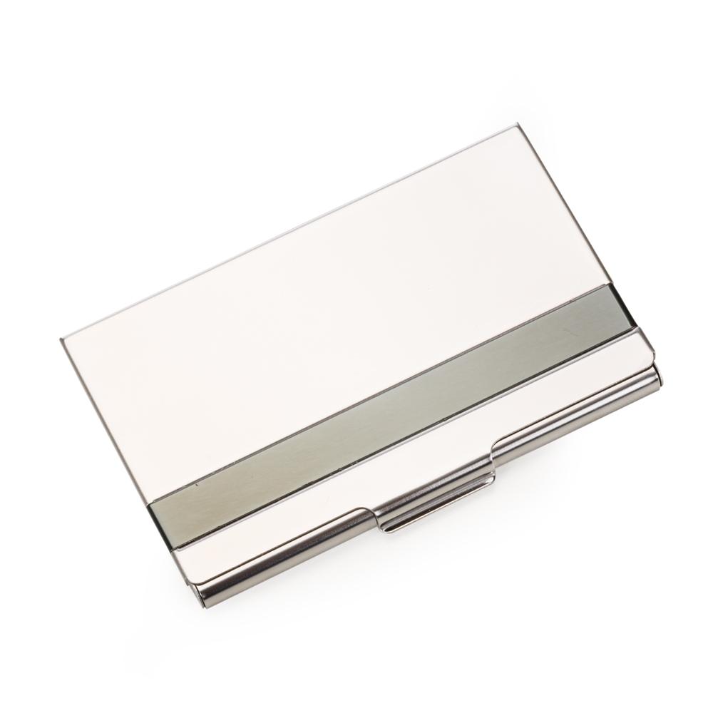 Porta cartão de aço inox YBX13029