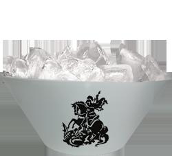 Balde Plástico de Gelo - 3,5 Litros - Silk